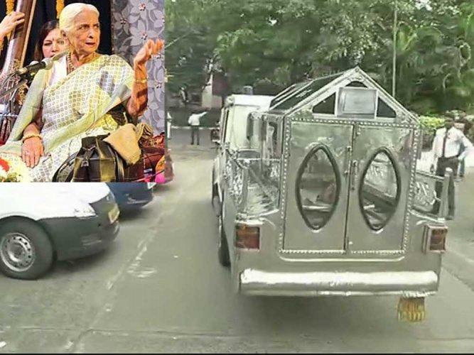 Thumri Queen Girija Devi passes away