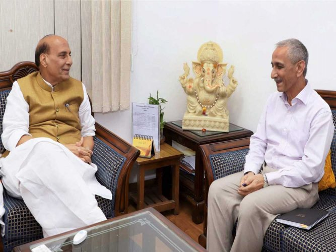Sharma formally appointed Centre's interlocutor for J&K