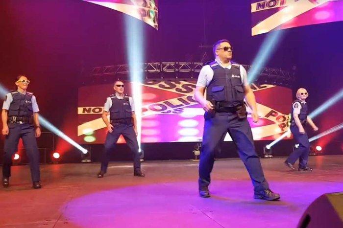 Watch: New Zealand policemen dance to Salman Khan on Diwali