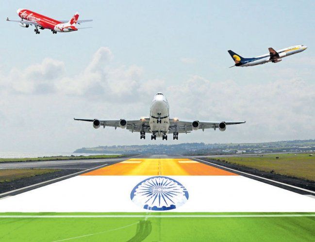 Domestic air traffic grew by 16.43% in Sept