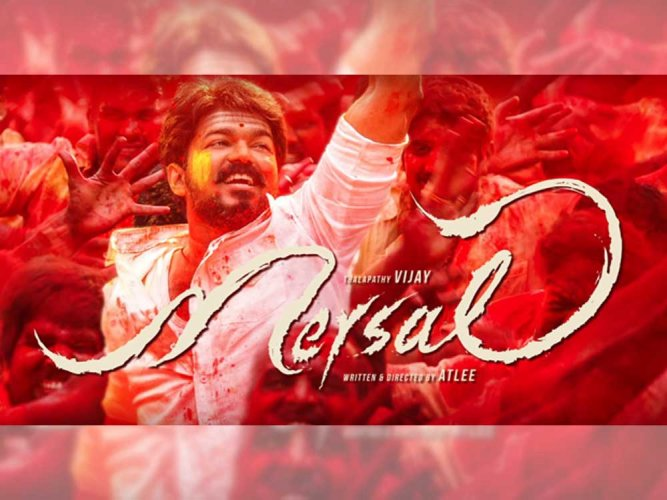 'Mersal' big hit, says Vijay; thanks all who supported him