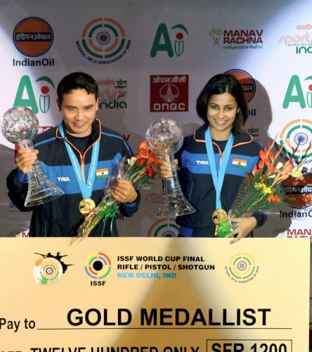 Amanpreet wins bronze in maiden outing, Jitu seventh