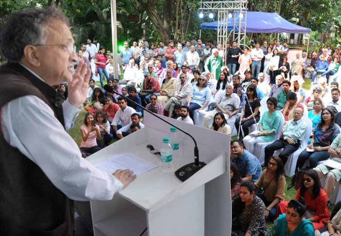 Stick, flag, bullets denote nationalism now: Ramachandra Guha