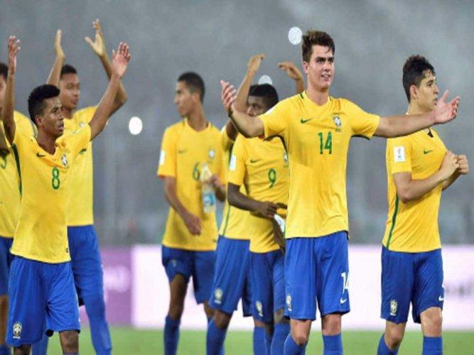 Brazil edge Mali to end third