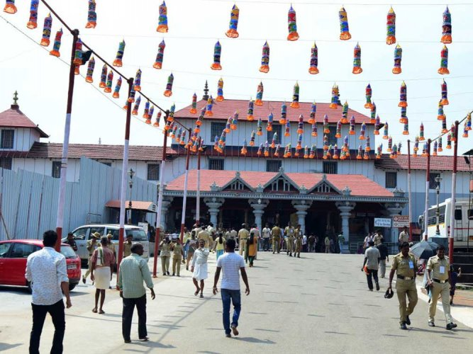 Security upped in Dharmasthala ahead of prime minister's visit