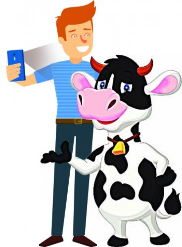 Now, 'Selfie with a Cow' contest to save bovines