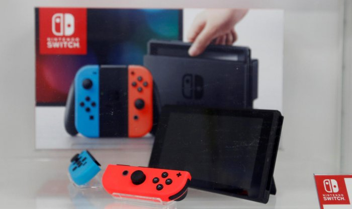 Nintendo nearly doubles net profit forecast on Switch console