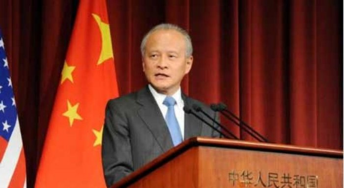 No one can 'contain' China: Chinese envoy