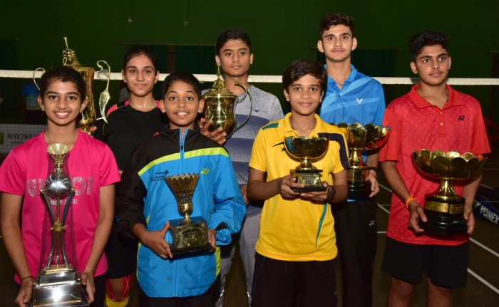 Drithi claims double crown