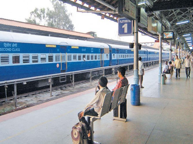 Free train ride as no one at counter