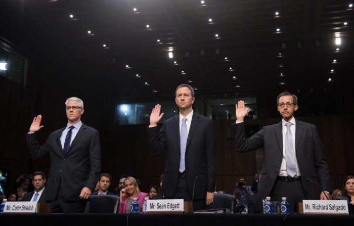 Tech giants in hot seat over election meddling
