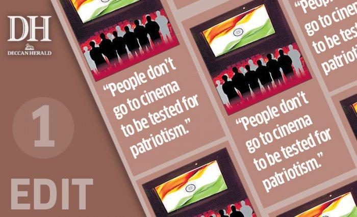 Rescind order on national anthem