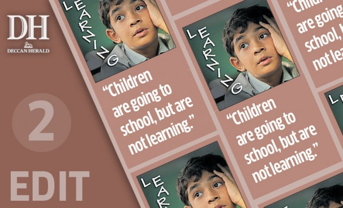 'Learning Crisis', wake-up call