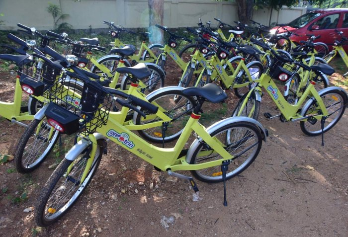 No public bicycle sharing for South Bengaluru