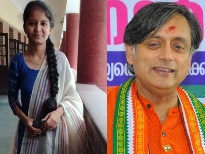 18-year-old student's blog opens Tharoor's eye on 'caste'