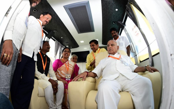 Shah attacks Cong govt in Karnataka for vote-bank politics, corruption