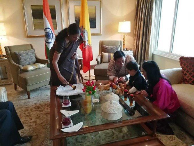 Channapatna toys for Bhutan prince