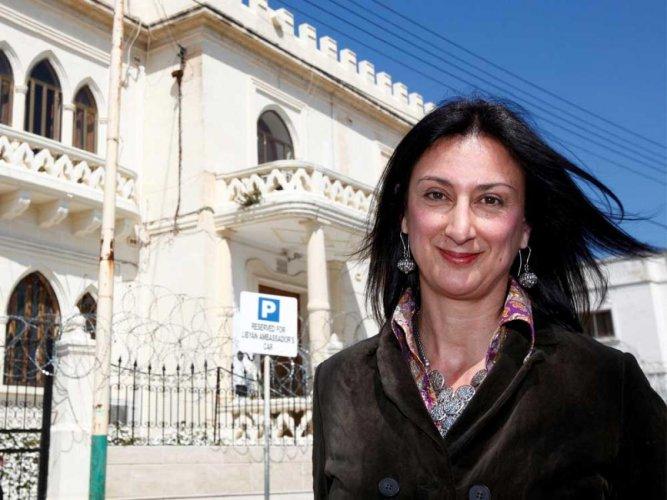 "EU executive calls on Malta to find journalist's ""barbarous"" killers"