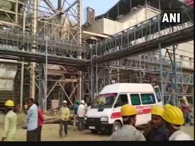 Dramatic video captures NTPC explosion horror