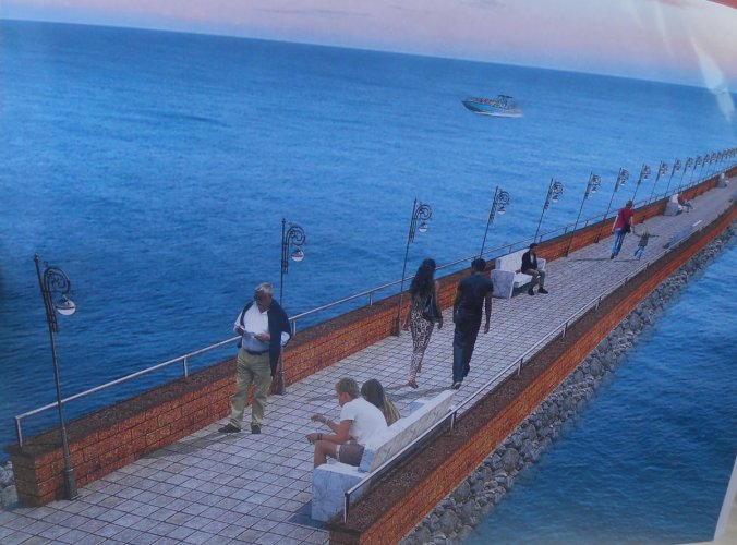 Malpe Sea Walkway Point to be ready by December first week