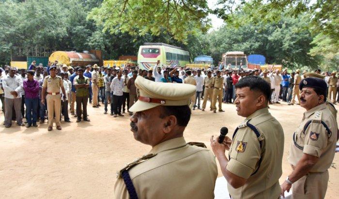 History-sheeters warned ahead of Tipu Jayanthi