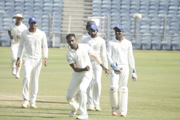 Mithun inspires Karnataka's big win