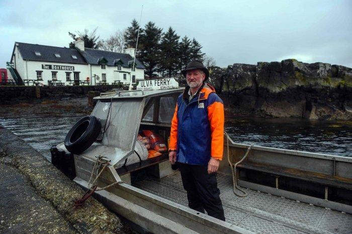 Five residents bid to buy Scottish island
