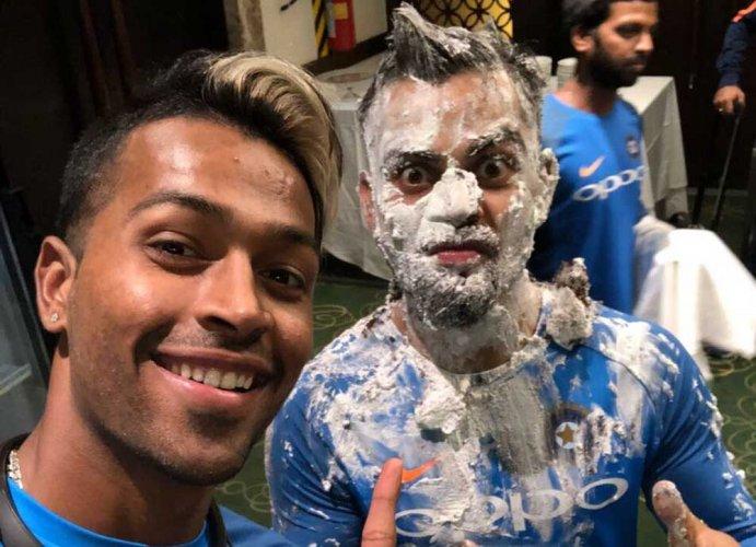 Virat kohli, on his 29th birthday, faces Hardik Pandya's revenge