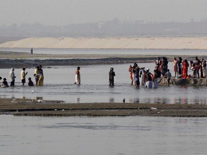 Nine drown in Ganga