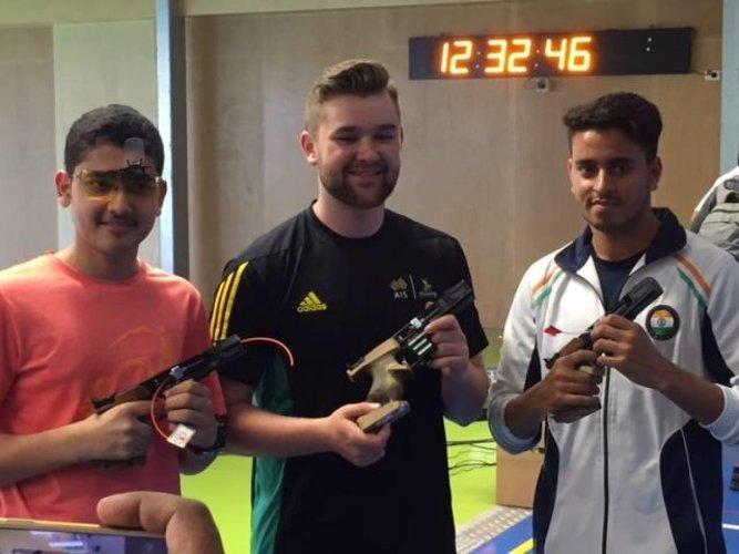 Anish, Neeraj among medals at Commonwealth Shooting Championships