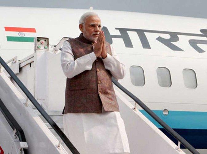 Modi will be on one-day tour to Chennai