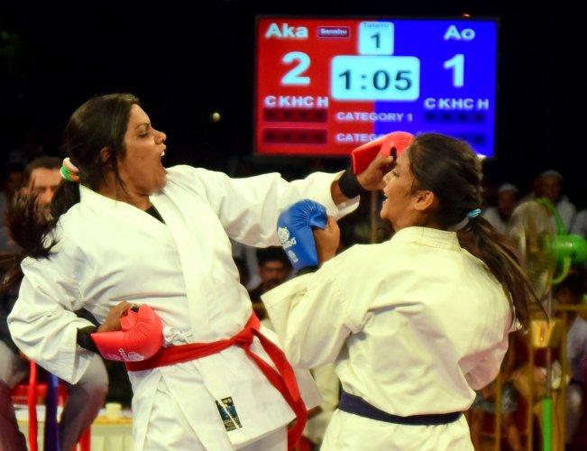 Mayor wins gold in Karate Championship