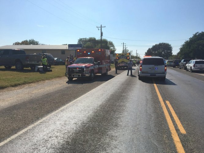 At least 20 dead in Texas church shooting: US media