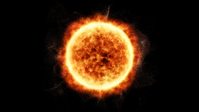 A tale of flares, fans and waves on the Sun
