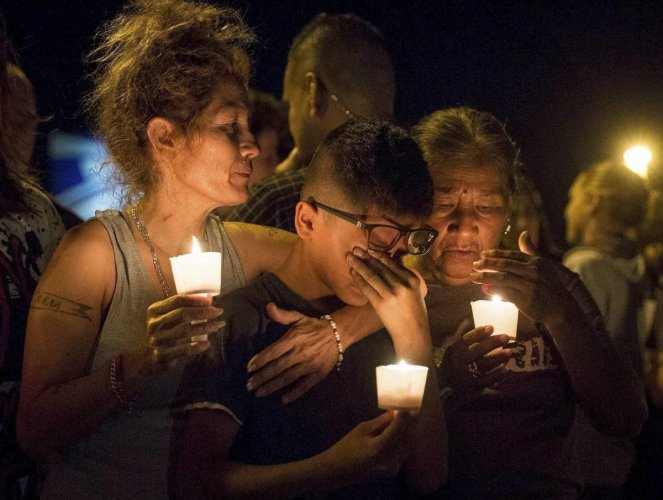 Trump calls Texas massacre 'an act of evil', but says guns not the problem