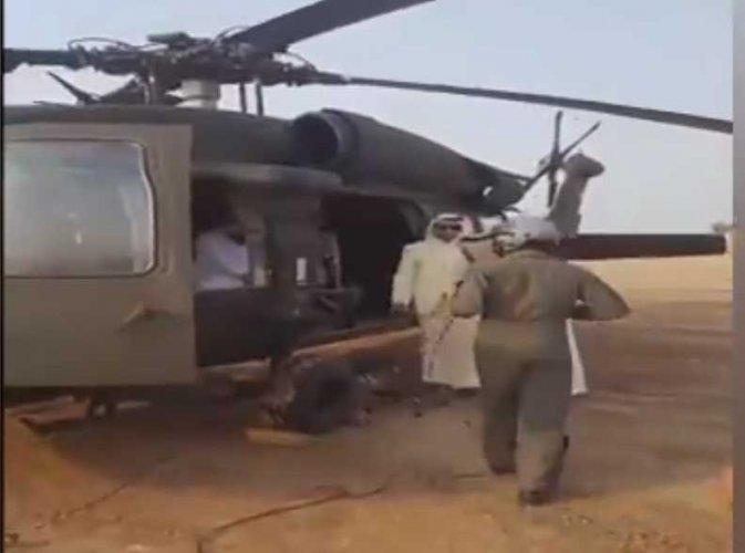 Saudi helicopter crash reportedly kills high-ranking prince