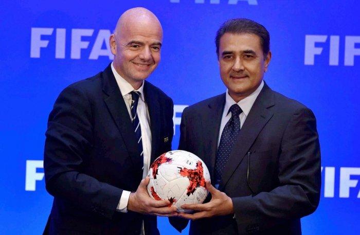 Infantino lavishes praise on AIFF