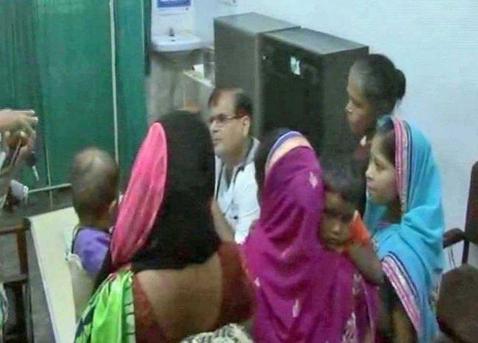 55 kids die in UP hospital in 4 days