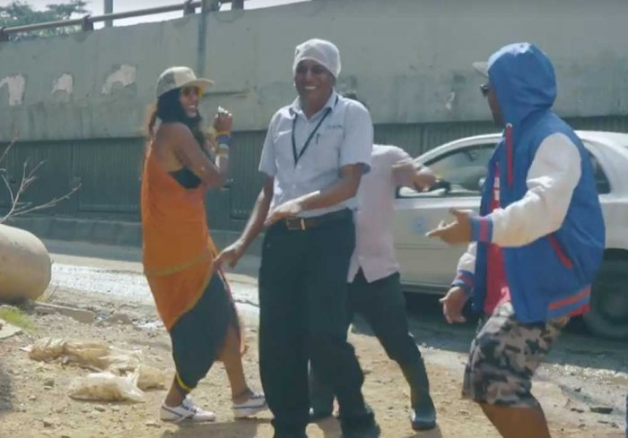 Watch: Rapping to the sorry state of Bengaluru roads