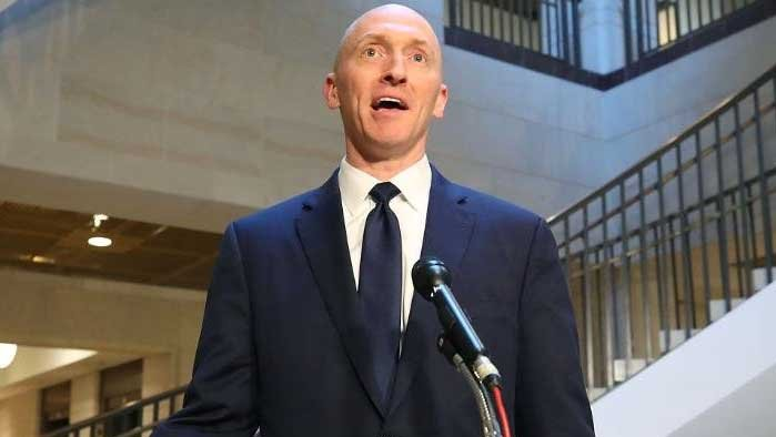 Trump's former adviser admits to Russia contacts