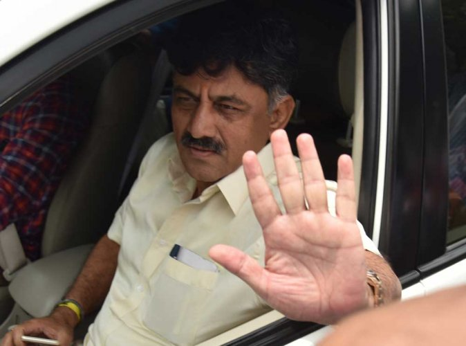 I'm followed, my phone tapped, says Shivakumar