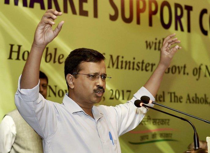 Kejriwal advocates death penalty for rapists
