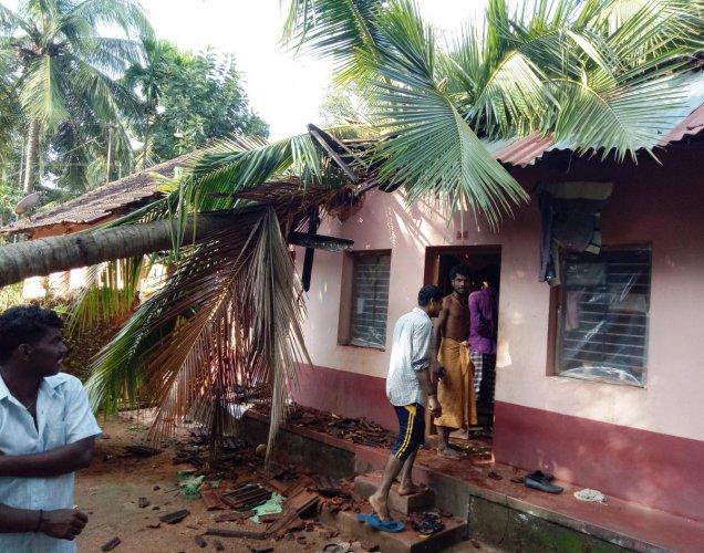 4 injured as rain wreaks havoc in DK district