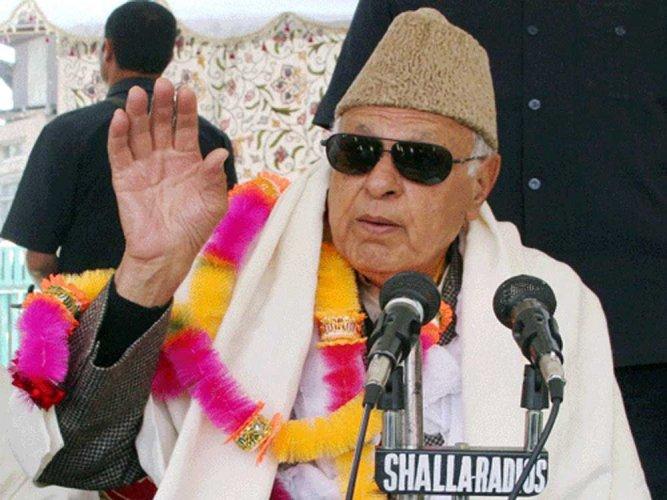 Abdullah blames Center for Kashmir turmoil