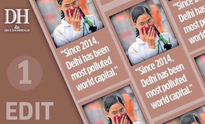Delhi's crisis: a blanket of smog