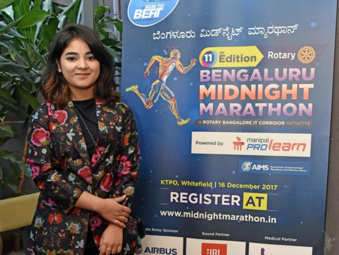 Zaira unveils Midnight marathon's theme