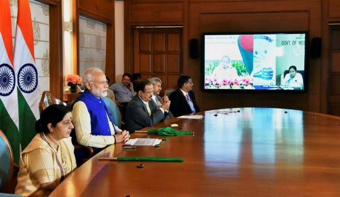 India, Bangladesh launch connectivity projects