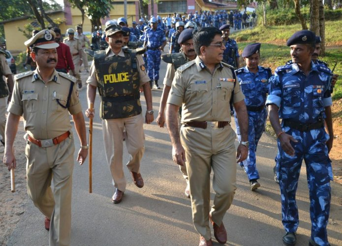 Tight security for 3rd Tipu Jayanti today