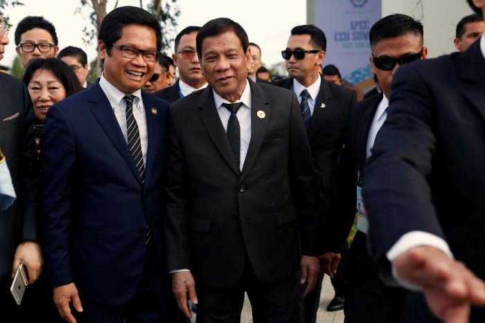 Duterte says he murdered a person as a teenager