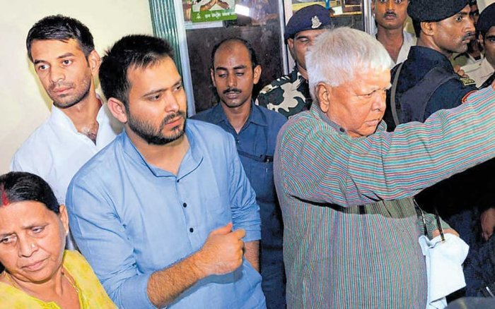 Lalu's projection of Tejashwi as CM face divides RJD